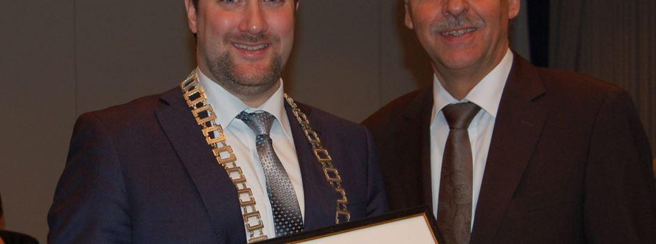 Ehrentitel Altbürgermeister an Jürgen Lohmann