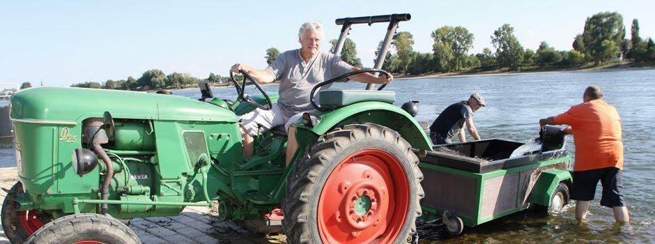 Rheinwasser für Pflanzkübel