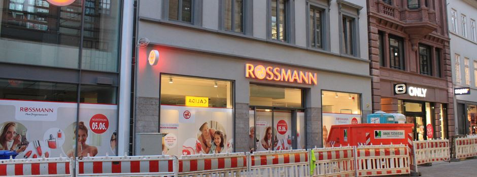 Rossmann-Eröffnung am Mauritiusplatz verschiebt sich