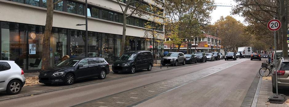 Kritik an neuer Verkehrsführung in der Großen Langgasse