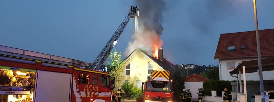 Ein Toter bei Brand in Nackenheim