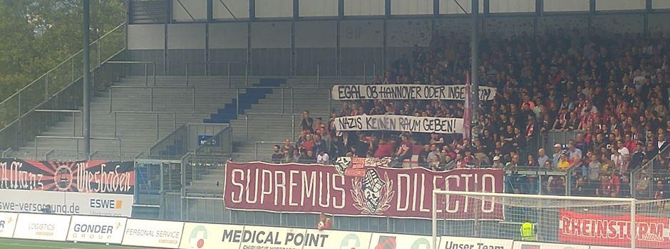 SVWW-Fans setzen Zeichen gegen Rechts