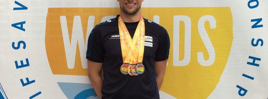 Jens Jagiella holt vier Medaillen bei Weltmeisterschaft in Australien