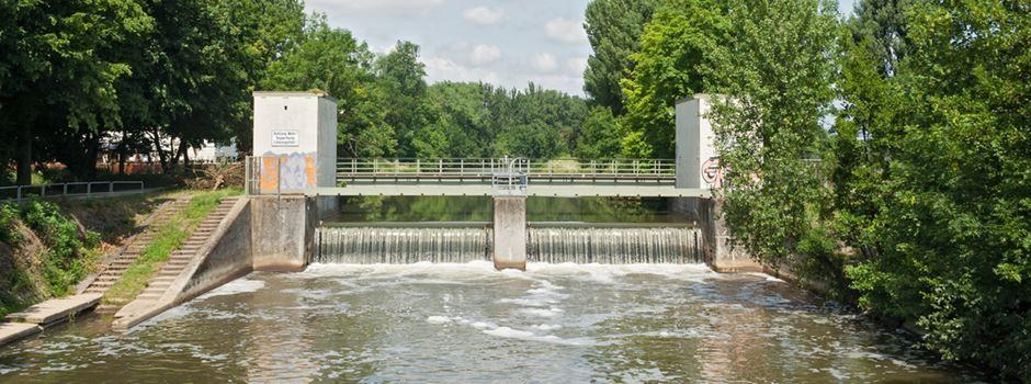 So wird der wasserstand an der nidda geregelt for Eschersheimer schwimmbad