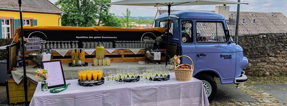 Der Wein-Laster - die mobile Weinbar für Hochzeiten und Events
