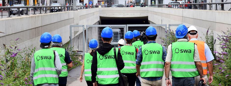 Trinkwasser, Mobilität & Grüne Wärme – Führungen der SWA 2020