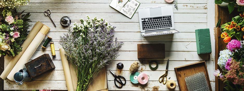 Blumenmanufaktur - moderner und hochwertiger Blumenschmuck