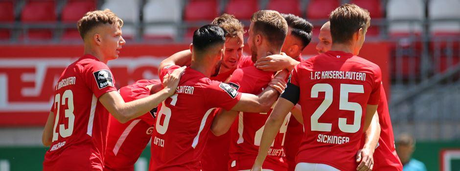 Doppelte-Pick, Röser & Zuck! Kaiserslautern mit drei Punkten