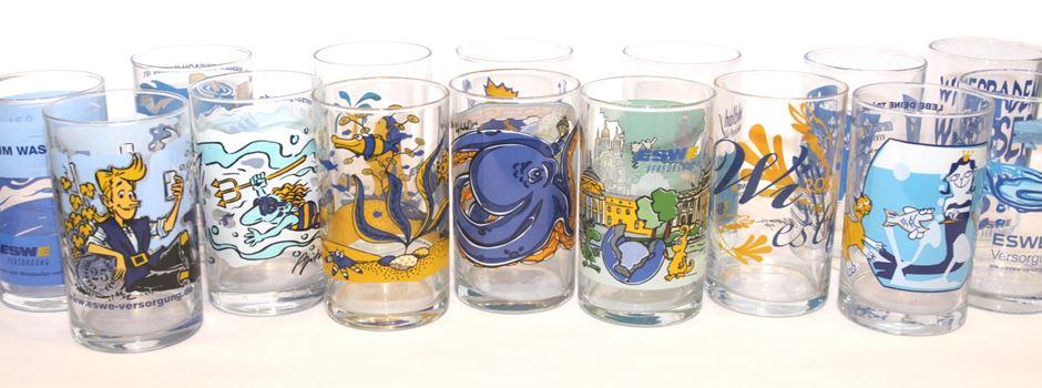 Neues Wasserglas für die Weinwoche vorgestellt