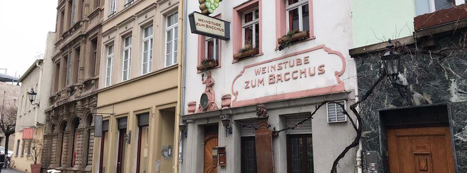 """Aus für Weinstube """"Zum Bacchus"""""""
