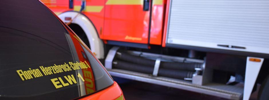 Feuerwehr und DRK üben Kolonnenfahrt