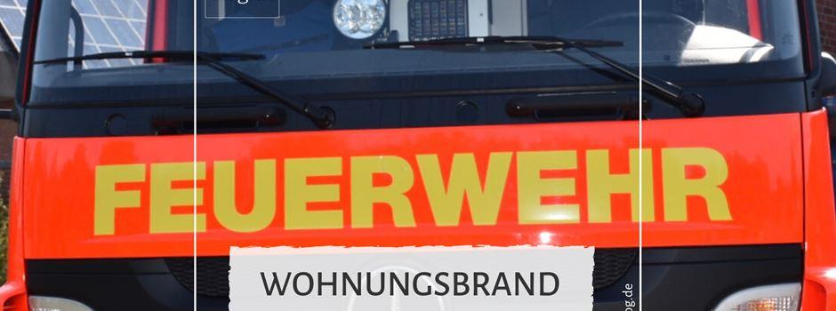 Wohnungsbrand in Herzebrock-Clarholz