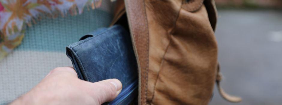 Taschendiebe unterwegs
