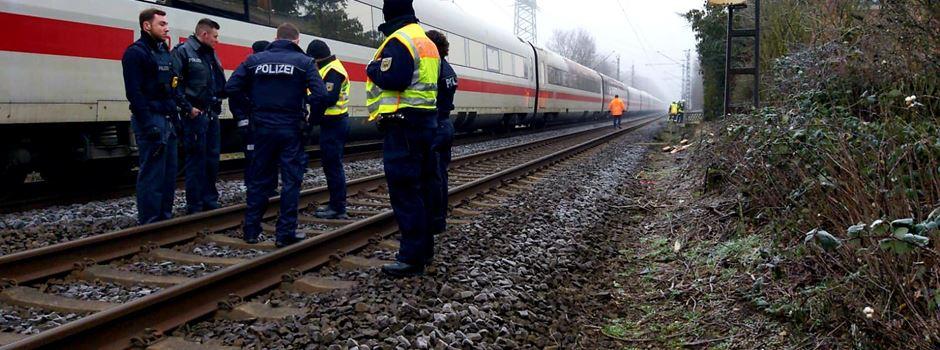 Oberleitung gerissen: Zugstrecke bei Rüsselsheim wieder frei