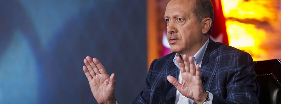 Illegale Erdogan-Wahlwerbung in Wiesbaden?