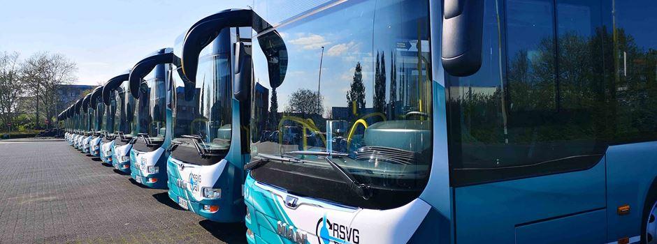 Zum Schutz des Fahrpersonals bleibt die vordere Tür von Bussen geschlossen