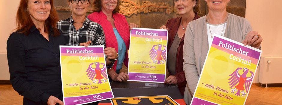 """Politische """"Cocktailabende"""" für Frauen"""