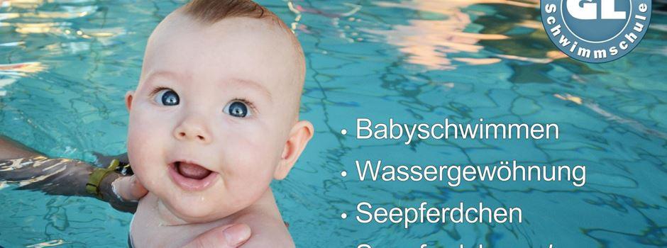 Anzeige: Neuer Babyschwimmkurs der GL Schwimmschule