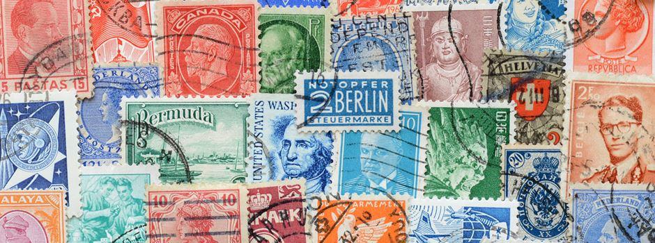 Millionenschwere Briefmarkensammlung kommt in Wiesbaden unter den Hammer