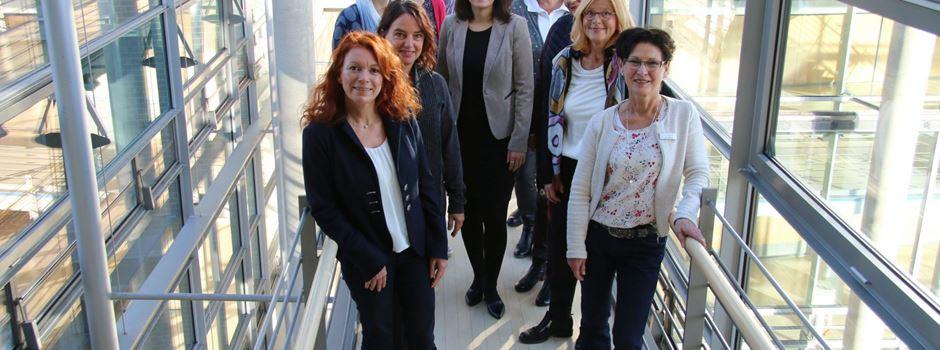 Gleichstellungsbeauftragte im Austausch mit Elvan Korkmaz