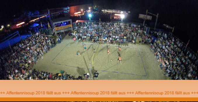Affentenniscup 2018 abgesagt