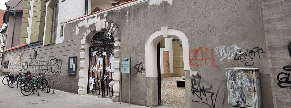 Neuer Gabenzaun in der Annastraße