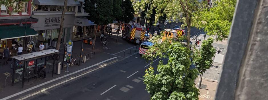 80-jährige Mainzerin von Müllauto erfasst und schwer verletzt
