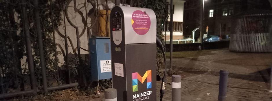 """Mainzer E-Ladestellen untersucht: """"Ergebnis alles andere als zufriedenstellend"""""""