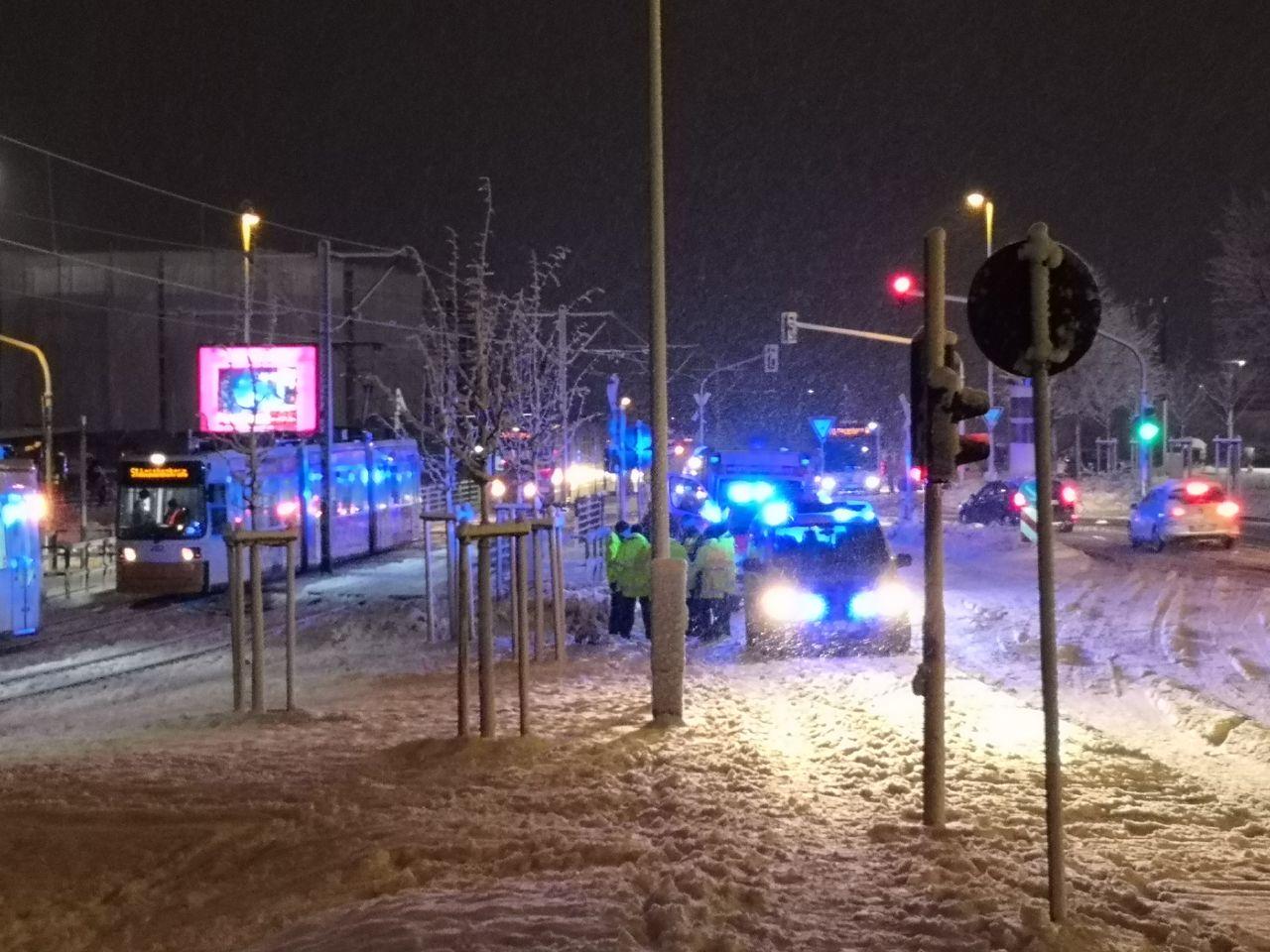Tödlicher Unfall in Mainz: Straßenbahn erfasst Radfahrer