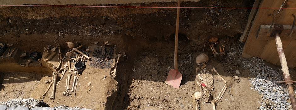Augsburger Innenstadt: Skelettfunde aus dem späten Mittelalter