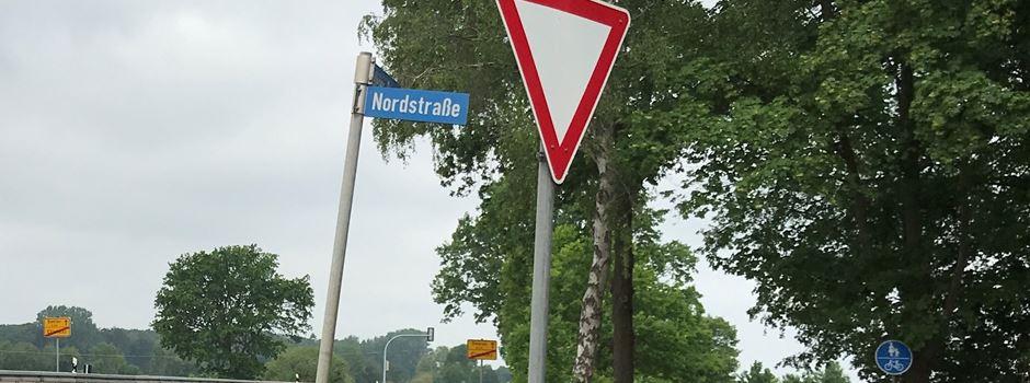 Querschnitt Nordstraßenkreuzung Clarholz