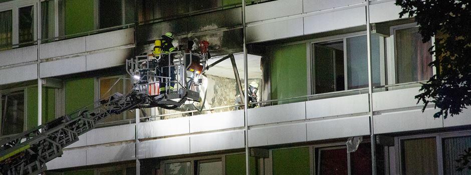 Hochhaus-Brand in Mainz: Ursache geklärt