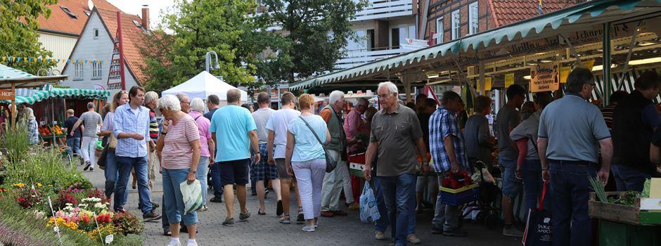 Raubüberfall am Rande des Wochenmarktes