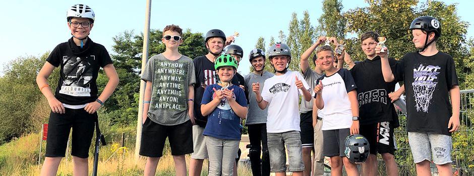 Jugendclub Widdig: Scooter-Workshop und Contest sorgten für Begeisterung