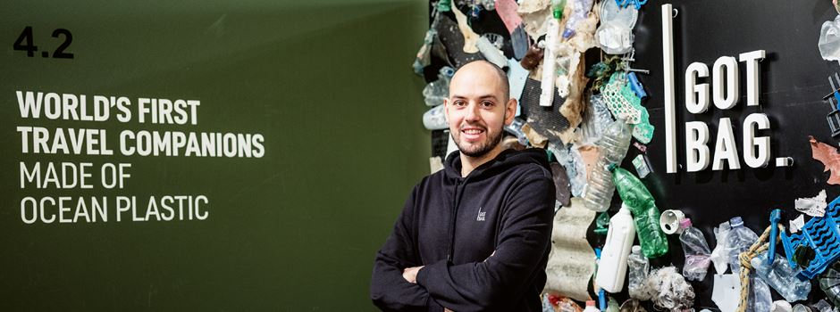Mainzer Rucksäcke aus 120 Tonnen Plastikmüll