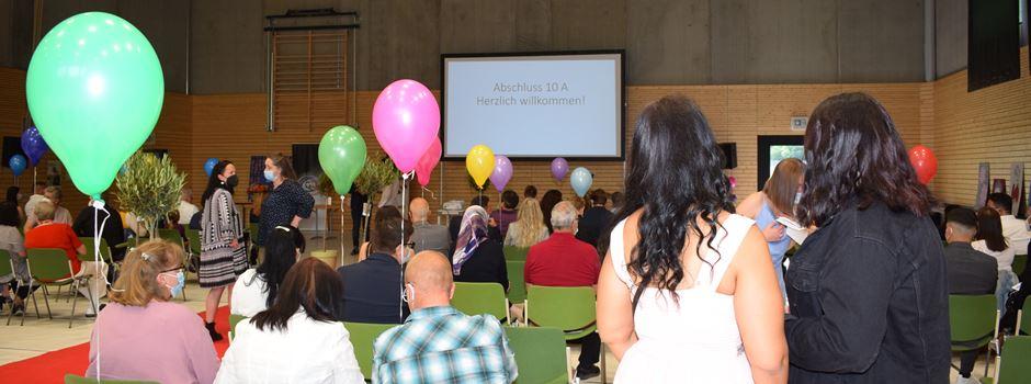 Abschlussfeier an der Alfred Delp-Realschule in Mondorf