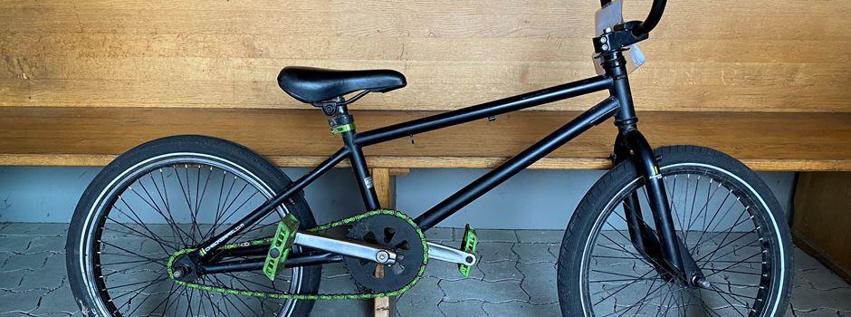 Wem gehört dieses BMX-Rad?