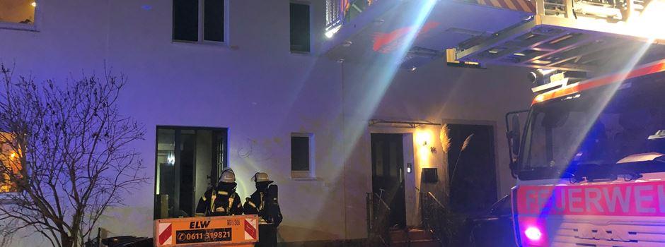 Sechs Verletzte nach Brand in Wohnhaus