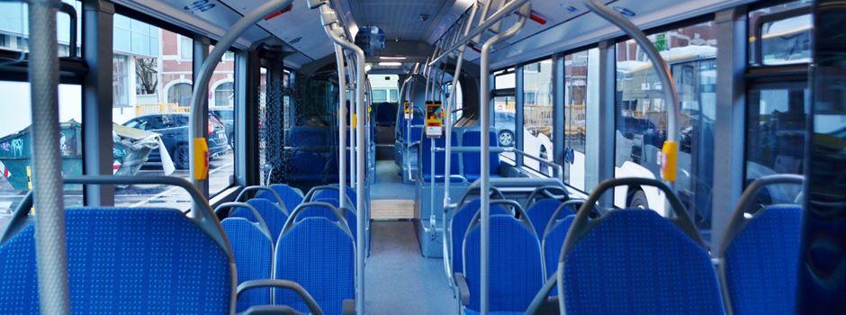 Busfahrer verhindert Unfall - mehrere Verletzte