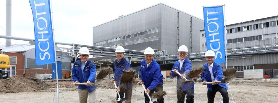 Was in das neue Gebäude auf dem Schott-Gelände kommt