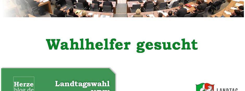Wahlhelfer für Landtagswahl 2017 gesucht