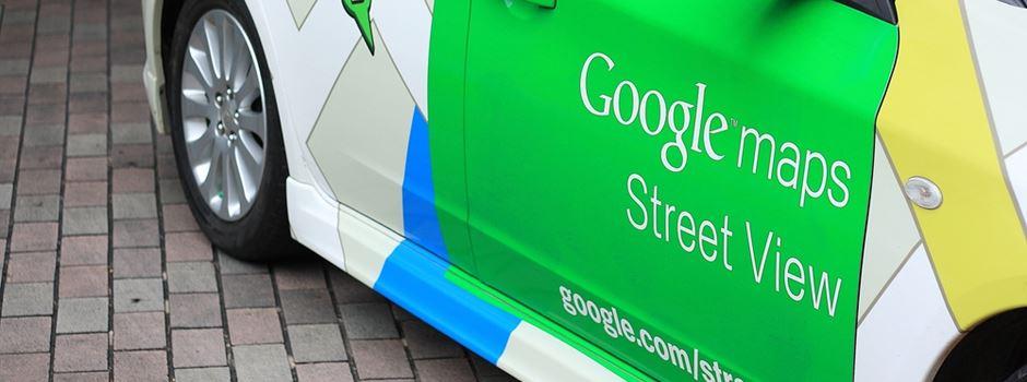 Warum ein Google-Auto durch Mainz fährt