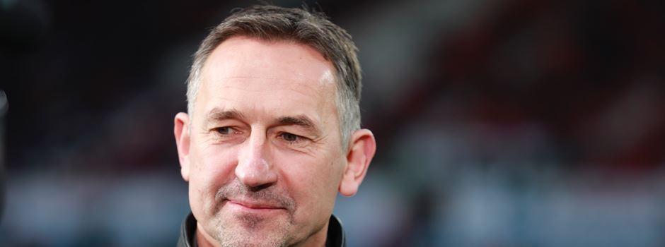 Trainer Beierlorzer feiert Mainz-05-Fans