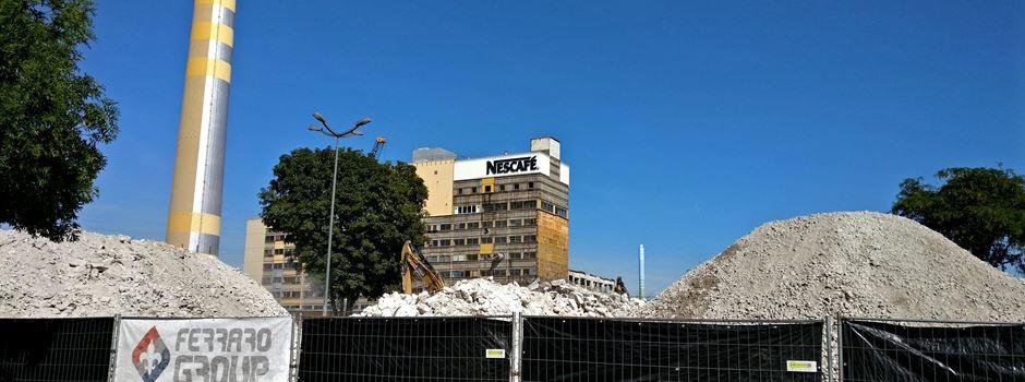 Was passiert auf dem Nestlé-Gelände?