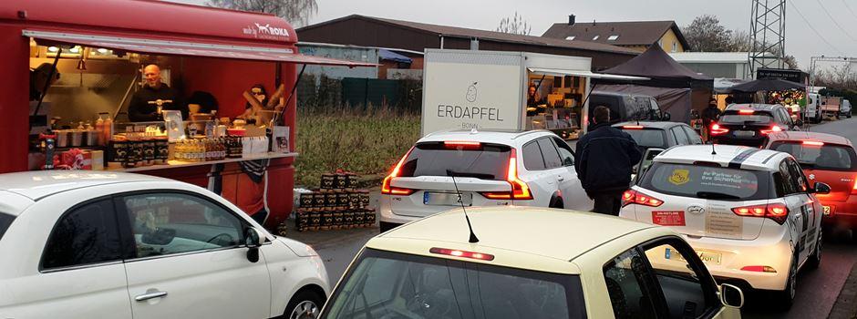 Street Food Drive-in mit Besuch vom Nikolaus