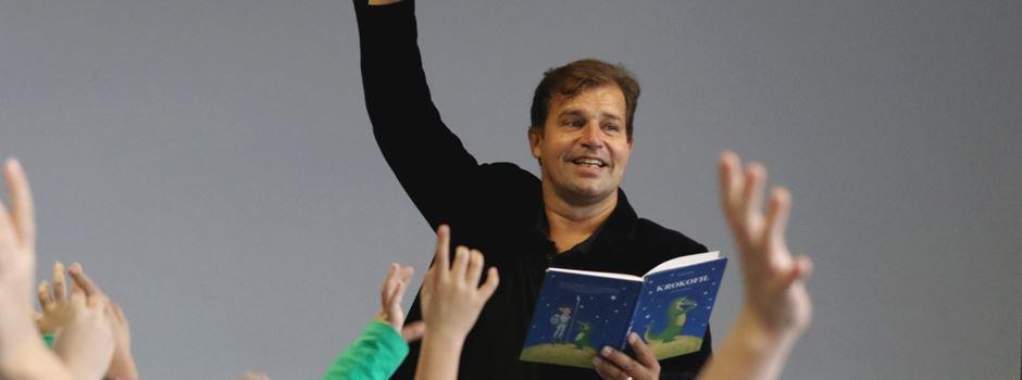 Autorenlesung in der Grundschule Beckergasse - Deshalb wollen die Kids jetzt weniger fernsehen