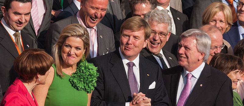 Niederländisches Königspaar besucht Mainz