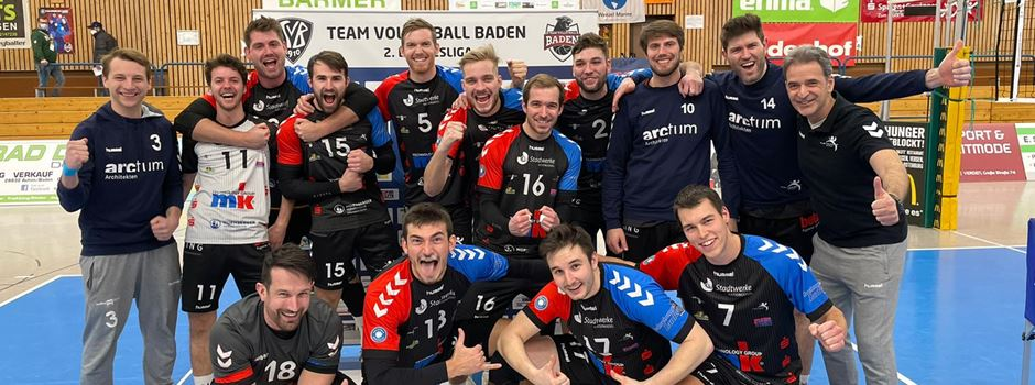 Volleyball: TuS Mondorf gewinnt deutlich gegen TV Baden