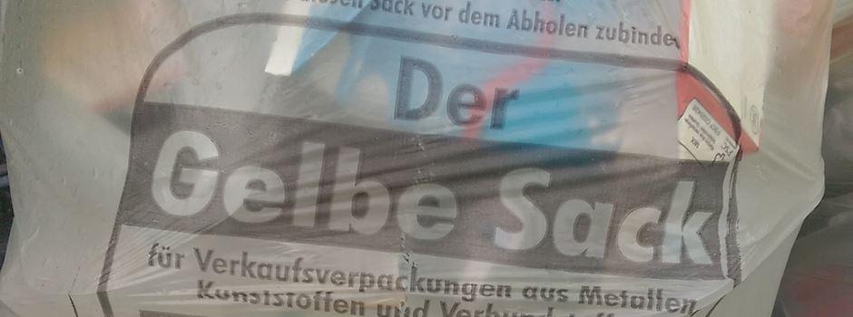 Privatanbieter aus Wiesbaden übernimmt Sammlung der Gelben Säcke in Mainz