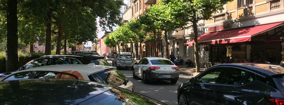 Wiesbadener kaum bereit, ihr Auto stehen zu lassen